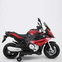 Rastar Bmw Motorcycle 6V Ride On Bike Red Подаръци и играчки