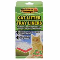 Rb And Thompson 24 Pack Litter Tray Liners - Магазин за домашни любимци