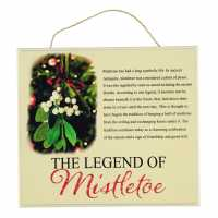 The Spirit Of Christmas Christmas Signs Mistletoe Коледна украса