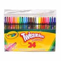 Crayola 24 Twistable Crayons  Подаръци и играчки
