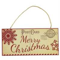 Stanford Home Hanging Sign Xmas Postcard Подаръци и играчки