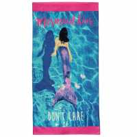 Mega Value Store Linens And Lace Beach Towel Mermaid Хавлиени кърпи