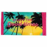 Linens And Lace Beach Towel Tropical Хавлиени кърпи