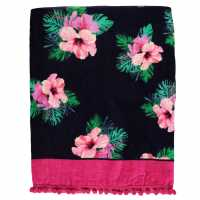 Linens And Lace Beach Towel Floral Хавлиени кърпи