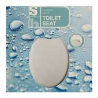 Stanford Home Classic Toilet Seat Grey Домашни стоки
