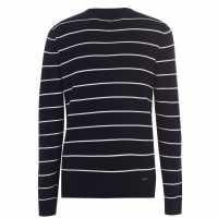 Threadbare Mulder Knit Snbx04 Navy/White Мъжки пуловери и жилетки
