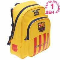 Fc Barcelona Backpack - Ученически раници