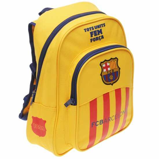 d96de6da0f4 Fc Barcelona Backpack - Ученически раници