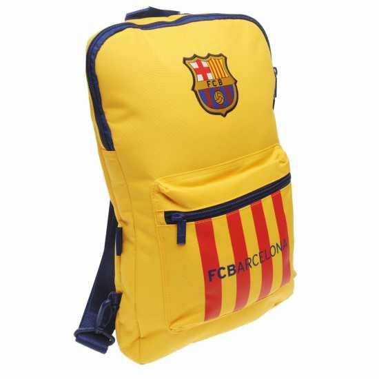 a5ac5d61af1 Fc Barcelona Чанта За Лаптоп Padded Laptop Bag - Ученически раници