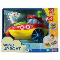 Activity Learner Wind Up Boat - Детско водонепромокаемо облекло