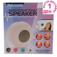 Heatons Resistant Shower Bluetooth Speaker Pink Слушалки