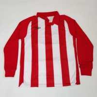 Sale Umbro Jersey Junior Boys Vermillion/Whit Детски тениски тип поло