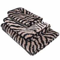 Mega Value Store Biba Zebra Bath Towel Black Хавлиени кърпи