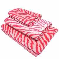 Mega Value Store Biba Zebra Bath Towel Pink Хавлиени кърпи
