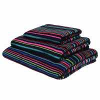 Mega Value Store Linea Finestripe Jacquard Towel Multi Хавлиени кърпи