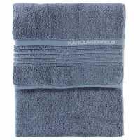 Karl Lagerfeld Plain Dye Twls Bx99 Blue Хавлиени кърпи