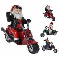 Mega Value Store The Spirit Of Christmas Santa On Motorbike 94  Коледна украса