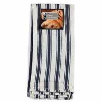 Stanford Home Daily Dining 3 Pack Lux Denim Tea Towels Denim Хавлиени кърпи