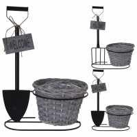 Mega Value Store Pro-Gardens Flower Basket Stand  Домашни стоки