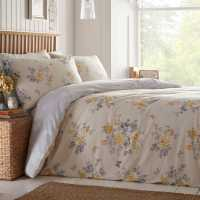 Mega Value Store Linens And Lace Butterfly Print Duvet Cover And Pillow Cases Grey Ochre Домашни стоки
