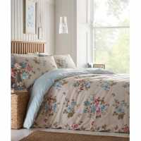 Mega Value Store Linens And Lace Butterfly Print Duvet Cover And Pillow Cases Beige Duck Домашни стоки