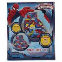 Character New Spiderman Duvet Set Red Мъжки стоки с герои
