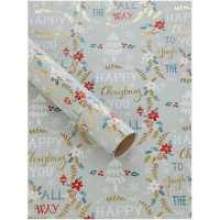 Unknown Happy Christmas To You 3M Wrapping Paper N/A