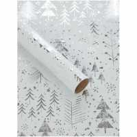 Unknown Silver Tree 3M Wrapping Paper N/A