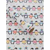 Unknown Penguin Friends 3M Wrapping Paper N/A