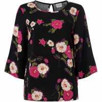 Jdy Gitte Printed Top Multi-Coloured Дамски ризи и тениски