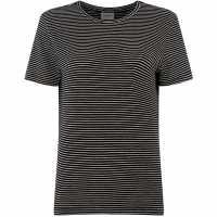 Vero Moda Striped T-Shirt Black Дамски ризи и тениски