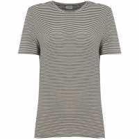 Vero Moda Striped T-Shirt White Дамски ризи и тениски