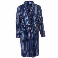 Howick Dg Multistripe Fleec Blue S/m Blue Мъжки пижами