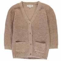Плетена Жилетка Rose And Wilde Adella Chunky Longline Cardigan Pink Детски плетени пуловери и жилетки