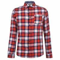Jack And Jones Карирана Риза Nico Checked Shirt  Мъжко облекло за едри хора